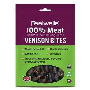 FEELWELLS VENISON BITES 100G Image 1